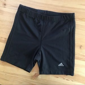 Adidas high rise stretchy workout shorts VINTAGE